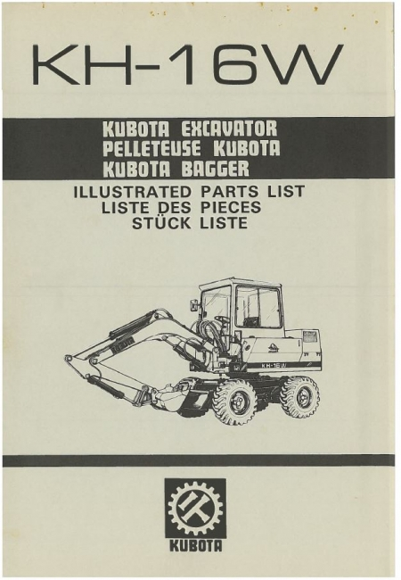 Catalogue pieces detachees mini pelle kubota
