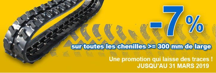 promotion chenilles mars 2019